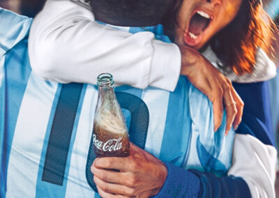 Coca Cola – Sponsor oficial de la selección ARGENTINA